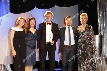 Luise Baehr, Jennifer Fuchsberger, Preistraeger Dr.Karsten Milek (Kids Kurs), Julien Fuchsberger, Inka Bause