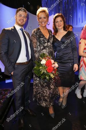 Julien Fuchsberger, Inka Bause, Jennifer Fuchsberger