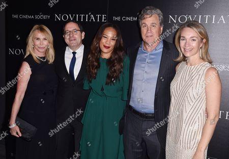 Trudie Styler, Michael Barker, Margaret Betts, Tom Bernard, and Celine Ratray
