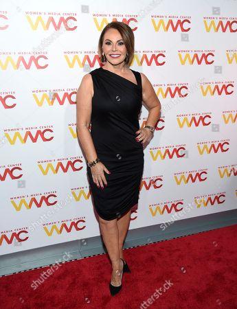 Maria Elena Salinas attends The Women's Media Center 2017 Women's Media Awards at Capitale, in New York