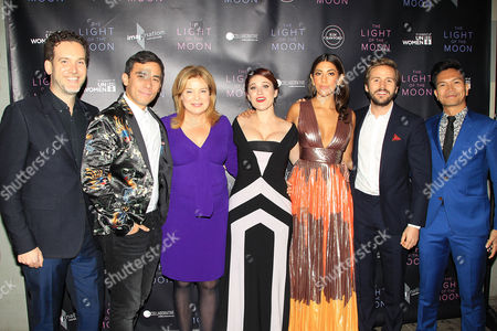 "Editorial picture of NY premiere of ""The Light of The Moon ""at the ICF center, sponsored by Kim Crawford wines, USA - 26 Oct 2017"