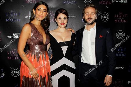 Stock Image of Stephanie Beatriz, Jessica M thompson and Michael Stahl David
