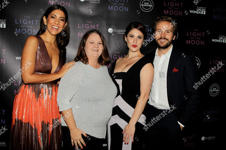 """Editorial photo of NY premiere of """"The Light of The Moon """"at the ICF center, sponsored by Kim Crawford wines, USA - 26 Oct 2017"""
