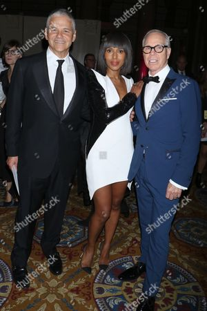 Efraim Grinberg, Chief Executive Officer and Chairman of Movado Group, Inc., Kerry Washington and Tommy Hilfiger