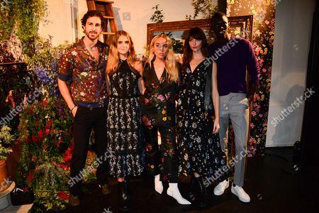 Clint Mauro, Dolores Doll, Goldilox, Annabelle Belmondo, Fernando Cabral
