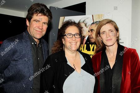 Gregory Barker (Director / Producer), Julie Goldman and Samantha Power Former (US Ambassador to the UN)