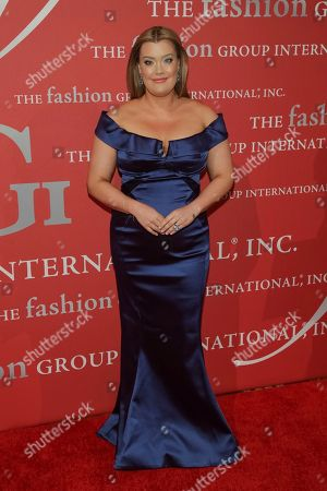 """Honoree Jamie Kern Lima attends The Fashion Group International's """"Night of Stars"""" gala at Cipriani Wall Street on Thursday, Oct. 26, in New York"""
