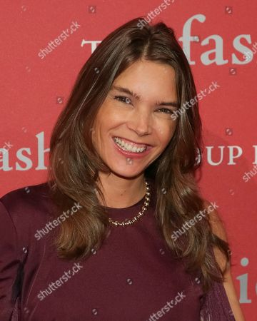 """Juliette Longuet attends The Fashion Group International's """"Night of Stars"""" gala at Cipriani Wall Street on Thursday, Oct. 26, in New York"""