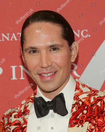 """Di Mondo attends The Fashion Group International's """"Night of Stars"""" gala at Cipriani Wall Street on Thursday, Oct. 26, in New York"""