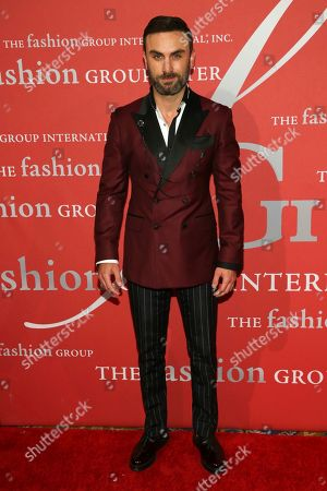 """Peyman Umay attends The Fashion Group International's """"Night of Stars"""" gala at Cipriani Wall Street on Thursday, Oct. 26, in New York"""