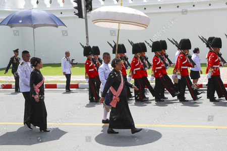 Editorial picture of Royal Cremation Ceremony for late Thai King Bhumibol Adulyadej, Bangkok, Thailand - 27 Oct 2017