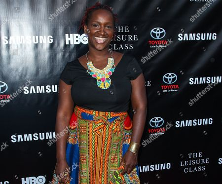 """Effie Brown attends The Project Greenlight Season 4 premiere of """"The Leisure Class"""" at The Theatre At The Ace Hotel in Los Angeles. Women and people of color have been complicit, at some level, in taking a back seat in Hollywood. That's what film and television producer Brown told a rapt audience, at annual Women at Sundance brunch, saying, Somehow, we co-signed this. Somehow, we participated.â"""