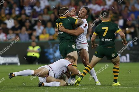 Editorial photo of Australia v England, Rugby League World Cup - 12 Jun 2017