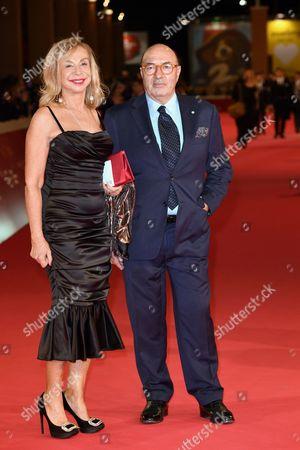 Francesca Lo Schiavo and Dante Ferretti