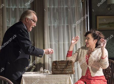 Clive Francis as Mr Thwaites, Lucy Cohu as Vicki Kugelmann,