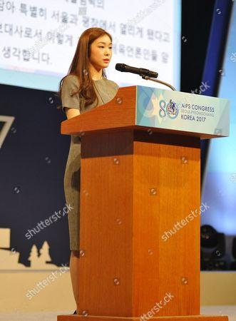 Stock Photo of Kim Yu-na