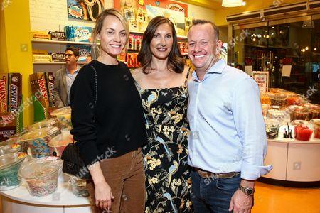 Amber Valletta, Evelyn Iocolano, David Robinson