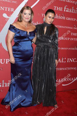 Jamie Kern Lima and SunHee Grinnell, Vanity Fair beauty director