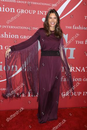 Editorial image of The Fashion Group International 'Night of Stars' gala, Arrivals, New York, USA - 26 Oct 2017