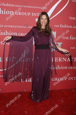 Editorial picture of The Fashion Group International 'Night of Stars' gala, Arrivals, New York, USA - 26 Oct 2017