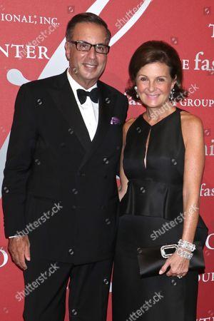 Stock Photo of Harry Slatkin and Laura Slatkin