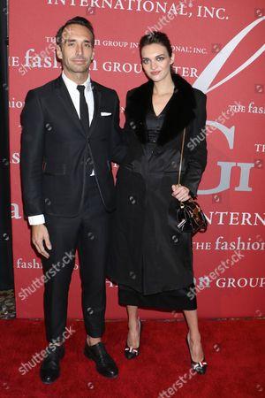 Rodrigo Bazan and Magda Laguinge