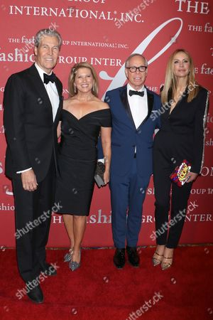 Stock Image of Terry J. Lundgren, Tina Lundgren, Tommy Hilfiger and Dee Ocleppo