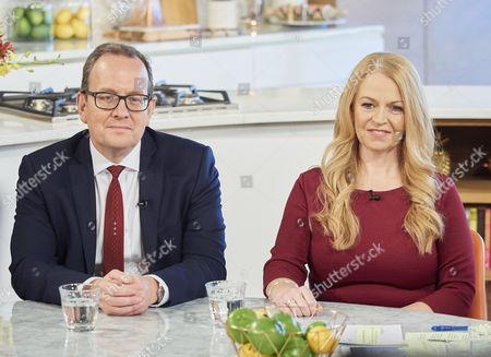 Martin Townsend and Sonia Poulton
