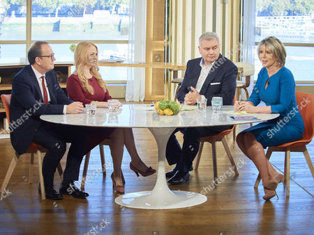 Martin Townsend and Sonia Poulton with Eamonn Holmes, Ruth Langsford