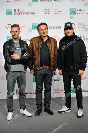 Nicolas Duvauchelle, Thierry Klifa and Nekfeu