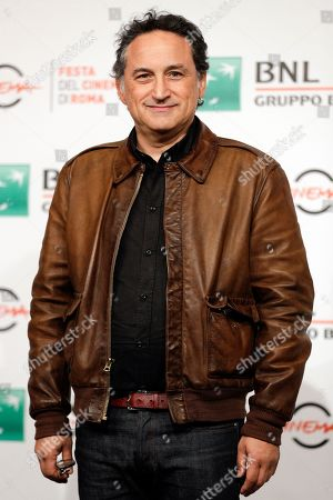 """Director Thierry Klifa poses for photos at the photo call of the movie """"Tout Nous Separe"""", at the 12th edition of the Rome Film Fest, in Rome"""