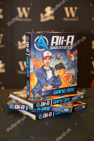 Ali-A Adventures Game on book