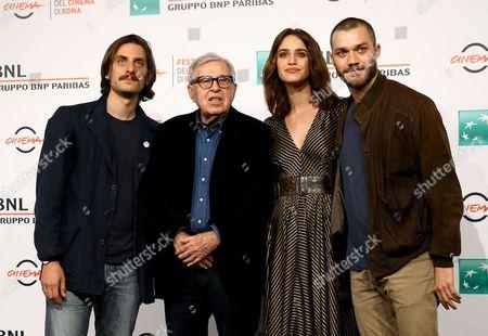 Luca Marinelli, Paolo Taviani, Valentina Belle and Lorenzo Richelmy