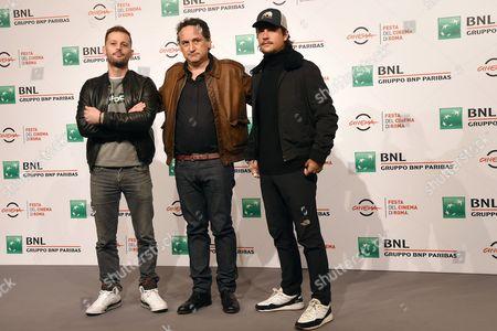 Nicolas Duvauchelle, director Thierry Klifa and Nekfeu
