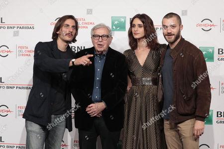 Director Paolo Taviani with the cast Luca Marinelli, Valentina Belle, Lorenzo Richelmy