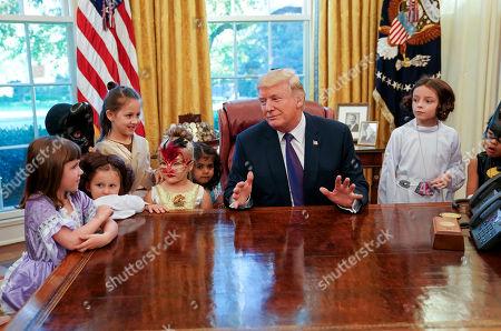 Editorial image of Trump Halloween, Washington, USA - 27 Oct 2017