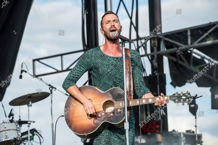Stock Image of Mondo Cozmo, Joshua Keith Ostrander. Mondo Cozmo performs at the Voodoo Music Experience in City Park, in New Orleans