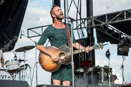 Stock Photo of Mondo Cozmo, Joshua Keith Ostrander. Mondo Cozmo performs at the Voodoo Music Experience in City Park, in New Orleans