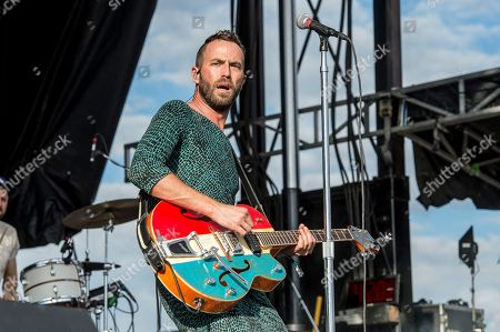 Mondo Cozmo, Joshua Keith Ostrander. Mondo Cozmo performs at the Voodoo Music Experience in City Park, in New Orleans