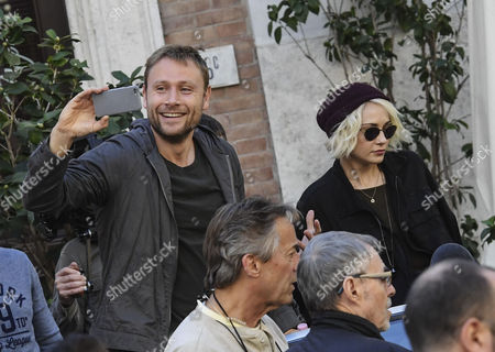 Max Riemelt and Tuppence Middleton
