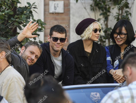 Stock Image of Brian J. Smith and Tuppence Middleton