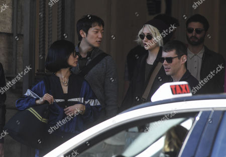 Editorial picture of 'Sense8' on set filming, Naples, Italy - 26 Oct 2017