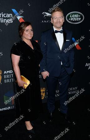 Lindsay Brunnock and Kenneth Branagh
