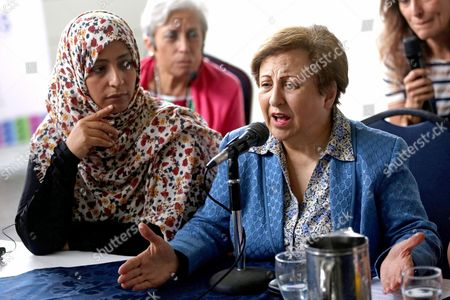 Shirin Ebadi and Tawakkul Karman