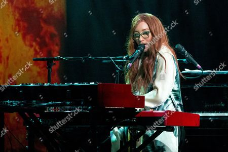 Editorial image of Tori Amos in concert at Orpheum Theater, Madison, USA - 26 Oct 2017