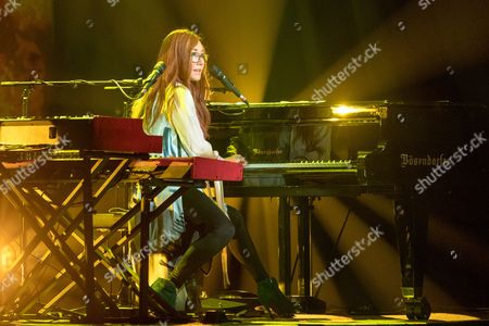 Editorial photo of Tori Amos in concert at Orpheum Theater, Madison, USA - 26 Oct 2017