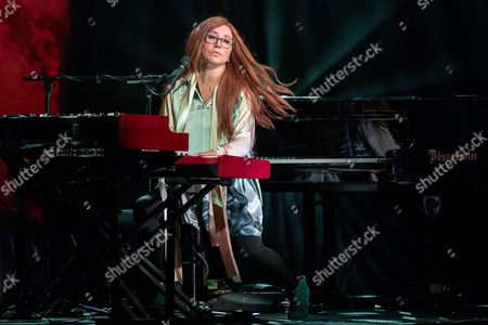 Editorial picture of Tori Amos in concert at Orpheum Theater, Madison, USA - 26 Oct 2017