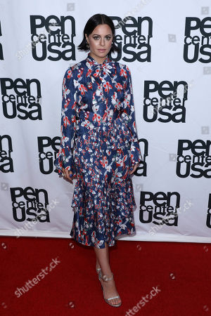 Sophia Amoruso attends 27th Annual PEN Center USA Literary Awards Festival at the Beverly Wilshire Hotel, in Beverly Hills, Calif