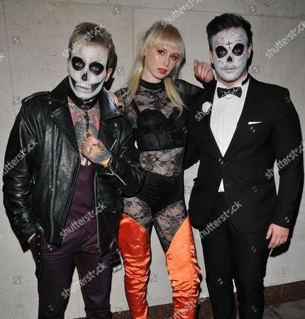 James Naden, Ivy Mae and Richard Hadfield