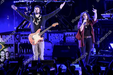 Ilsey Juber performs during Linkin Park and Friends Celebrate Life in Honor of Chester Bennington at the Hollywood Bowl, in Los Angeles